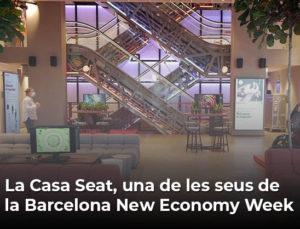 La Casa Seat, una de les seus de la Barcelona New Economy Week